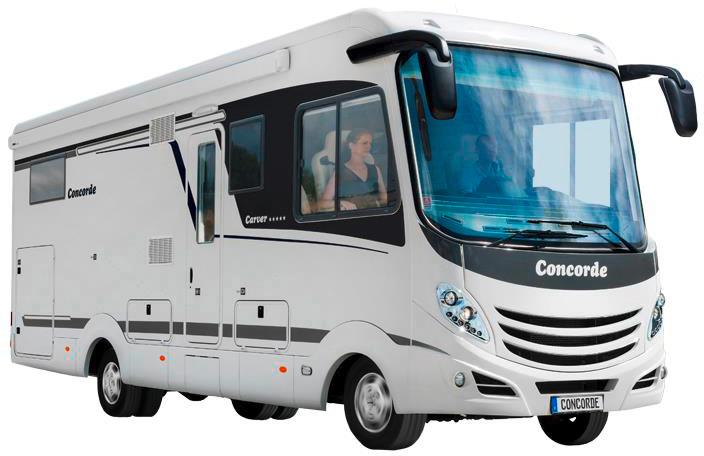 concorde carver reisemobile wohnmobile bei caravan wohnmobile. Black Bedroom Furniture Sets. Home Design Ideas