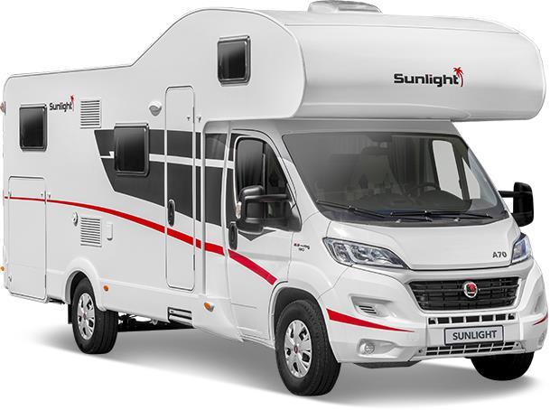 Reisemobil Etagenbett : Sunlight alkoven wohnmobile