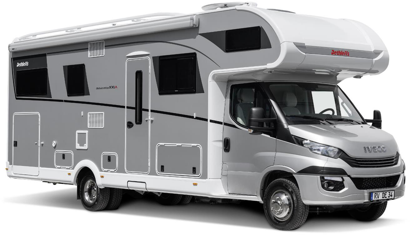 Dethleffs Globetrotter XXL – Luxus-Reisemobile zu günstigen