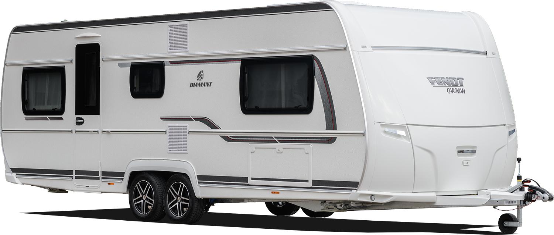 Fendt Diamant - Der Fünf-Sterne-Caravan Wohnwagen