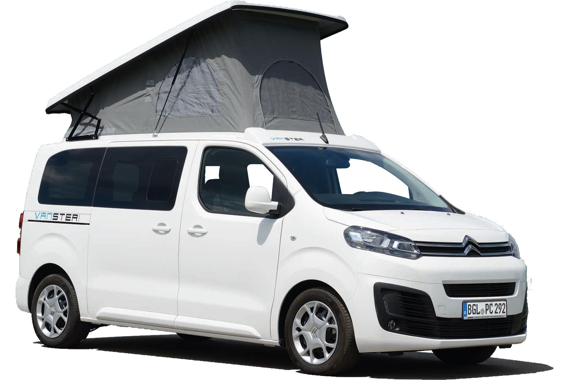 Pössl Vanster: Kastenwagen zum Campen Wohnmobile
