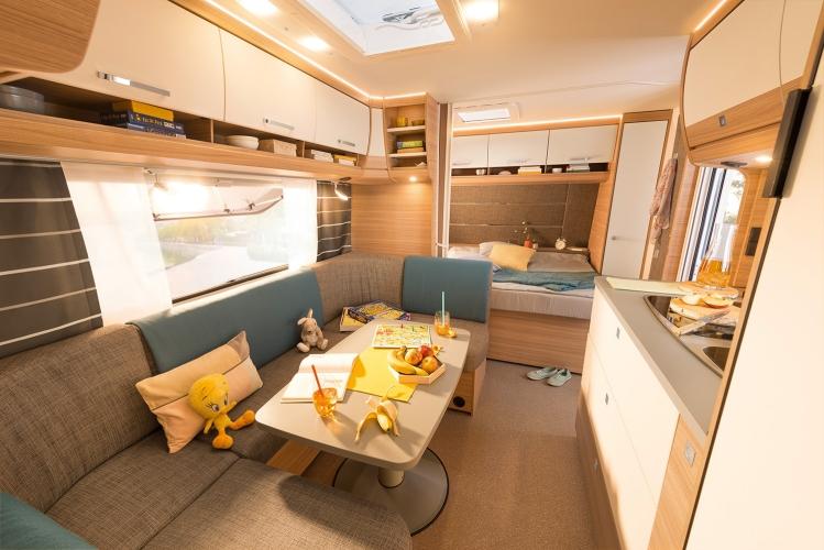 Wohnwagen Etagenbett Einbauen : Dethleffs camper wohnwagen