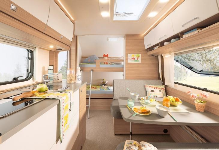 Etagenbett In Wohnwagen Einbauen : Dethleffs camper wohnwagen