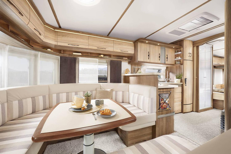 Etagenbett Landhausstil : Hobby landhaus caravan u2013 wohnwagen bei wendt.de