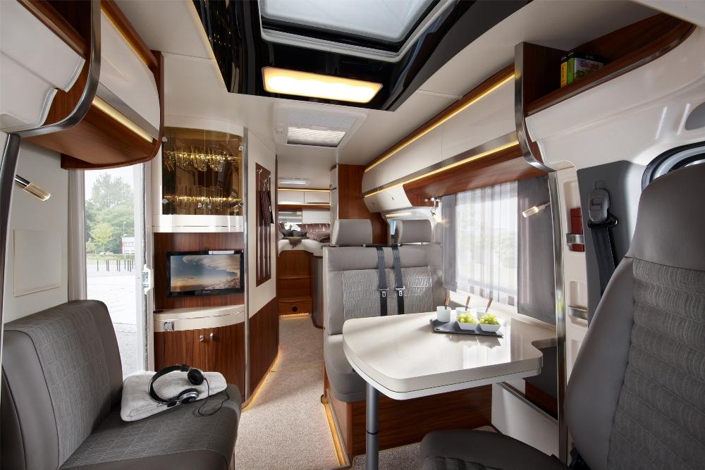 Der Hobby Premium Van Kompakter Komfort Wohnmobile