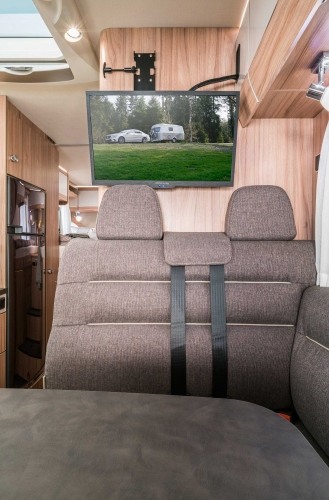 HYMER EXSIS I - HYMER EXSIS I 588 INTERIEUR TV LOW