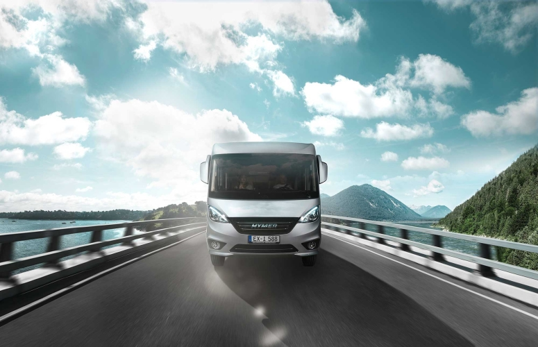 HYMER EXSIS I - HYM EXSIS I KEYVISUAL FRONT LOW