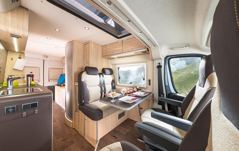 Komfortabler Kastenwagen Hymercar Yellowstone Wohnmobile