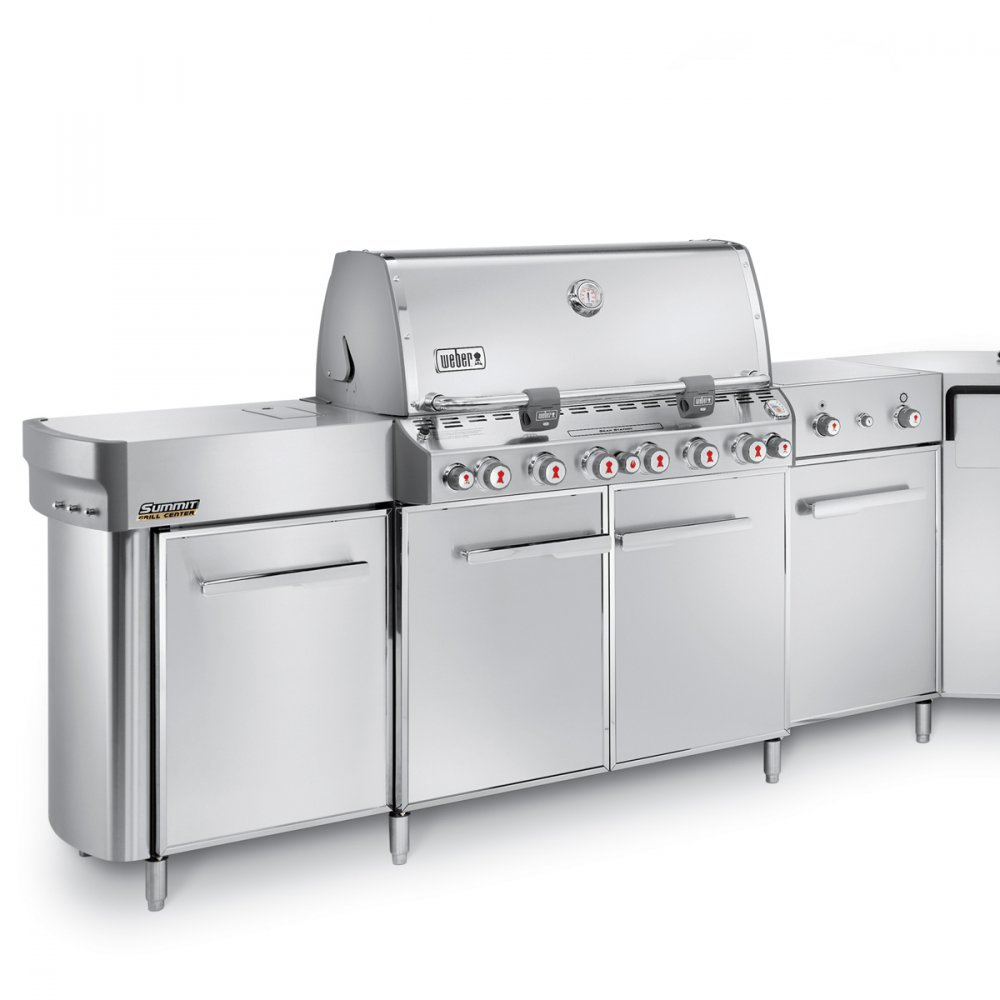 Summit® Grill Center GBS®, Edelstahl