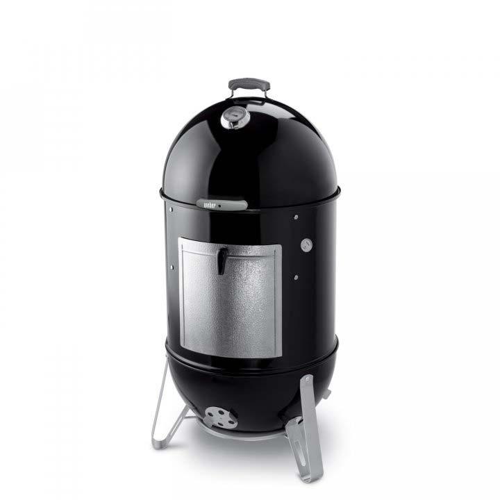 weber smokey mountain cooker 47cm black holzkohlegrill. Black Bedroom Furniture Sets. Home Design Ideas